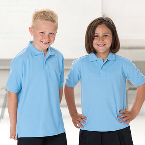 Kid's hardwearing polo shirt