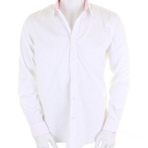 Contrast premium Oxford shirt long sleeve